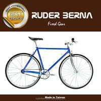Funla Blue Silver 700C Fixed Gear complete bike
