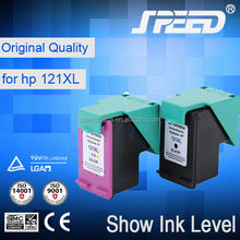 Guaranteed 100% for hp 122 121 ink cartridge with Auto Chip