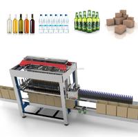 Automatic Case Packer for Bottled Drinks Cartoning Packing Machine for Bottled Beverage