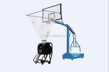 """Tall"" intelligent basketball training program-controlled machine"