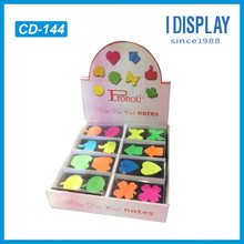 pos cardboard counter top display boxes, paper display box stand for display
