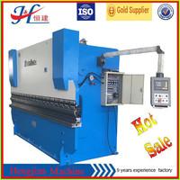 WC67K-100T/3200 Sheet Steel Bending Machine, Hydraulic CNC Press Brake