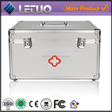 2015 new products small aluminum case tool storage box medical transportation box