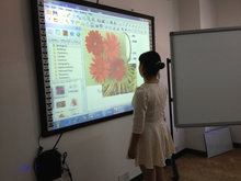 2015 Hot! China factory price for best smart portable interactive whiteboard