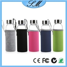 550ml 500ml infusion glass bottle infusion bottles with cap