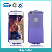 New products for 2015 transparent tpu case cover for iphone 6+