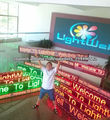 new technology red,yellow,blue,green color wholesale led signs