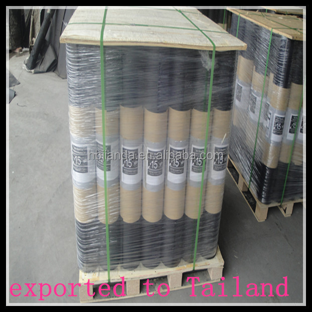 Asphalt-saturated organic roofing felt and asphalt shingles for sale