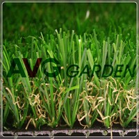 Soft Garden Decoration Synthetic Turf Lawn