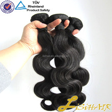 Natural can be dye can be bleach brazilian hair extensions wholesale