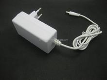 5.5v 2.72a power adapter white color with EU plug