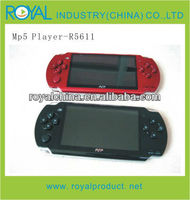 4.3' game king mp4/mp5 game player with camera