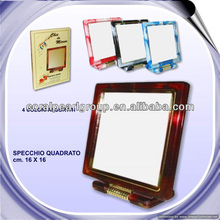 "6"" Rectangular Two-color Mirror Stand"