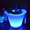 China Manufactuer illuminated hot sale plastic promotional led ice bucket