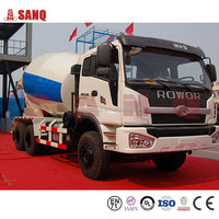 Concrete mixer truck dimensions Concrete mixer truck with low price