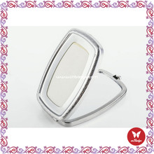 Newest promotional custom mini compact mirrors murano glass compact mirror