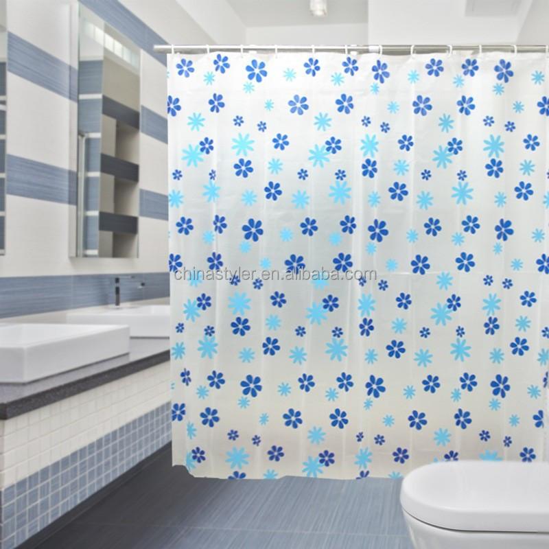 Cortinas De Baño Easy: de la tela artículos para el hogar de moda de poliéster cortina de