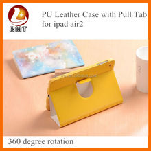 wholesale sublimation 360 degree rotation case for ipad air