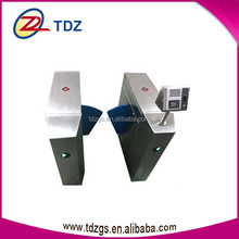 network interface board face fingerprint mechanism of flap barrier with barrier system