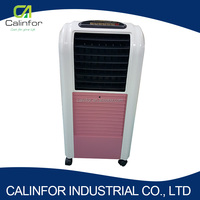 High quality pink LED panel 10m/s 50/60Hz rechargeable air cooler fan for room