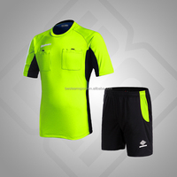 High quality referee wear soccer uniform football uniform with OEM service