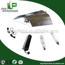 Greenhouse garden hydroponics growing system 600w grow kit/ Hydroponics ruian hengxiong complete 600w hps reflector kit