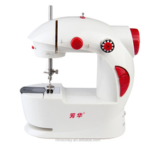 Trade Assurance Manual mini sewing machine FHSM-201, double thread, double speed