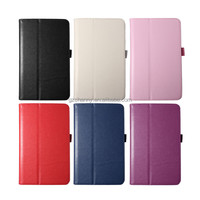 Hot Sale Perfect PU Stand Smart For LG PU Stand Flip For G Pad 7.0 V400 Tablet Pouch Bag Case Cover Wallet Protector