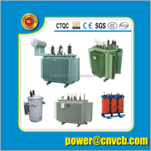 Power transformers Copper with good price oil three phase