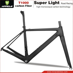 Carbon Road Bike Frame T800 Super Light,Di2 Compatible Carbon Aero Road Bicycle Frame
