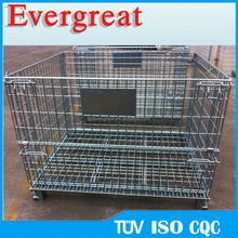 Evergreat nesting mesh steel roll container