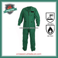 Fireproof anti-static pilot coverall air force coverall