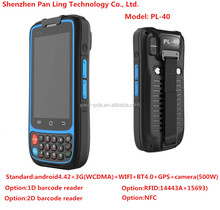 PL40 CB144 IP67 MTK6572 dual Core 1.2GHZ SOS handheld rugged smartphone with nfc chip