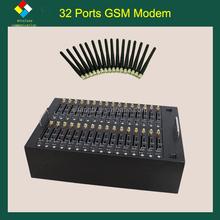 SF-LINK 32 port Antecheng TC35 fastrack modem 32 ports usb bulk sms sending modem pool rj45 modem