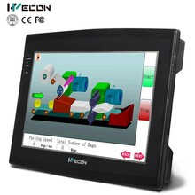 """Wecon 10.2"""" cheap china hmi for industrial automation and optional for proface hmi"""