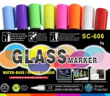 New chalk markers reversible tip/ porcelain marker pen