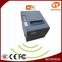 restaurant hardware ,wireless thermal receipt mini printr wifi printer RP80W