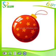 2015 wholesale customized fashional christmas ball ornaments at factory price