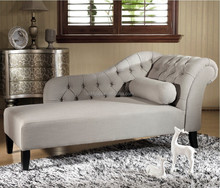 Modern Fashion Fabric Chaise Lounge Sofa Bed Furniture Noble Dawdler Sofa Bed