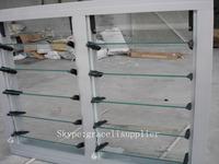 Folding fixed Aluminum Glass Louvered windows with Australian Standard glass