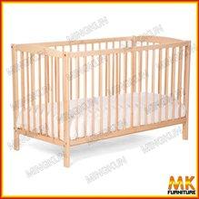 portable bamboo baby crib wood