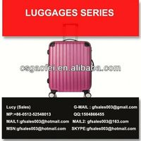 2013 hot sell colorful travel lightweight luggage for luggage using for luggage