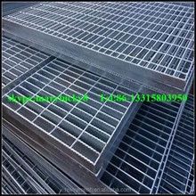 Anti-slip steel grating/heat-resistant steel grate bar 32*5mm (Huijin Factory)