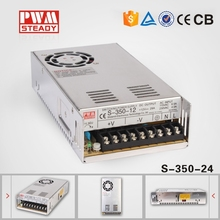 CE Approved meanwell style 350W 15 Amp Single Output 24V 15A switching Power Supply
