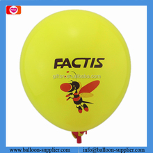 Promotional branded balloons assorted little bees round printed balloons