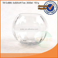 round clear acrylic glass fish tank