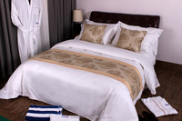 600tc plain white cotton wholesale white cotton hotel bed linen,hotel bed linen satin,towel hotel bed linen