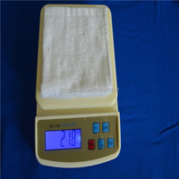 22g cotton airplane towel with plastic trays and tong