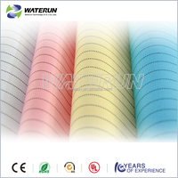Industrial cleanroom conductive fabric for ESD garment