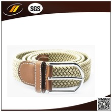 New Style Specialized in belt stretch elastic belt with leather